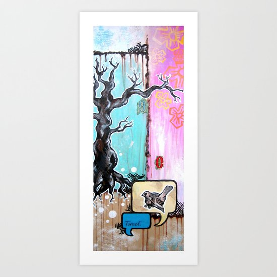 TWEET Art Print