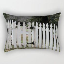 Welcome the gate is open Rectangular Pillow