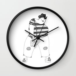 Mother in Law Wall Clock