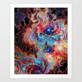 Portal in a Puddle Art Print