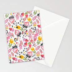 Fun Fruits Stationery Cards