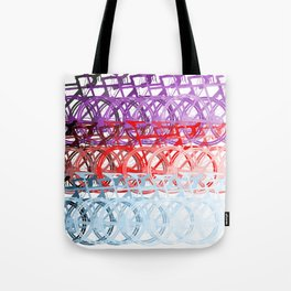 Bicycles palette Tote Bag