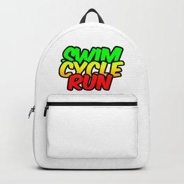 Swim Cycle Run Backpack