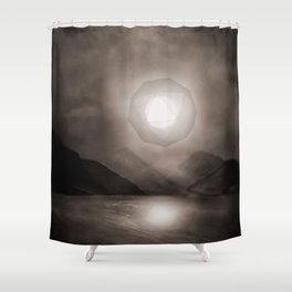 Landscape - intervention 01 Shower Curtain