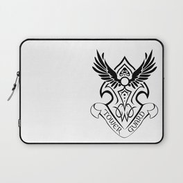 Tower Guard Shield (Black) Laptop Sleeve