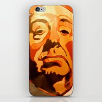 hitchcock iPhone & iPod Skins featuring Hitchcock by Jonny Moochie