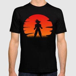 The sunset of super saiyan T-shirt