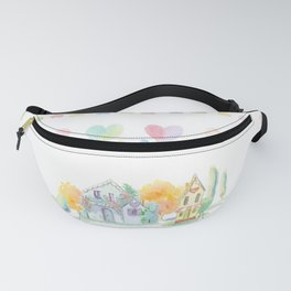 Little Houses: Staying Home Fanny Pack