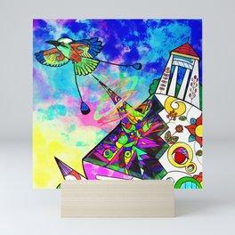 Torogoz Graduation Mini Art Print