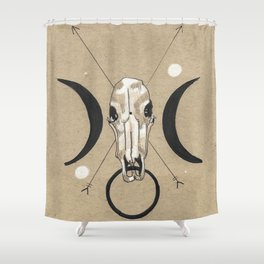 WHORES II Shower Curtain