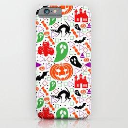 Playful Halloween pattern iPhone Case
