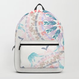 Pastel Goodness Soft Mandala Backpack