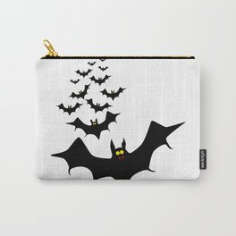 Isolated Bats Carry-All Pouch