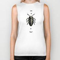 bug Biker Tanks featuring Bug by Bili Kribbs