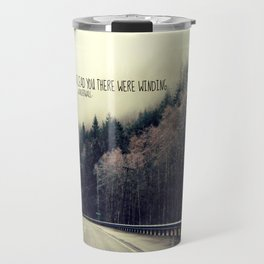WINDING ROADS ON HWY 101  Travel Mug