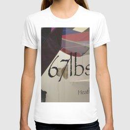 67 lbs. T-shirt