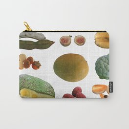 Exotic Fruit Collage Carry-All Pouch