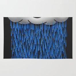 'When it rains, it pours.' Rug