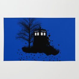 Tardis Shadow Rug
