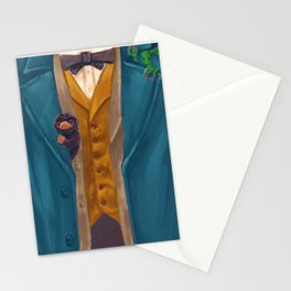 Newt Scamander (Costume + Critters) Stationery Cards