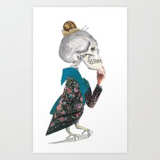 What was the question? Art Print