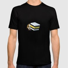 It Takes All Sorts - Greedy Gnome MEDIUM Mens Fitted Tee Black