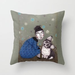 What do you think? Throw Pillow