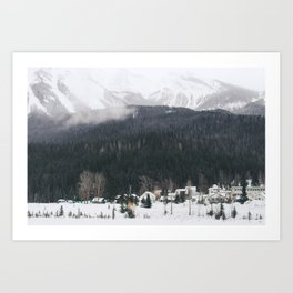 Alpine Village Art Print