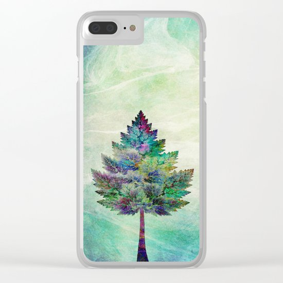 The Magical Tree Clear iPhone Case