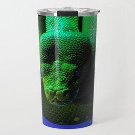 Green Tree Python Travel Mug