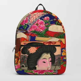 Two Geishas Backpack