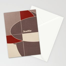 Seattle Mosaic Stationery Cards
