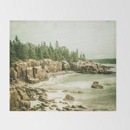 Acadia National Park Maine Rocky Beach Decke