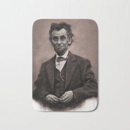 Abraham Lincoln Bath Mat