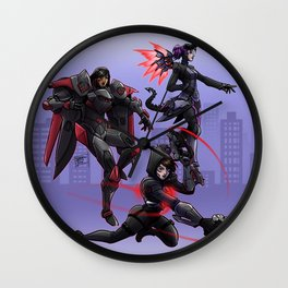 Talon´s Widows Wall Clock