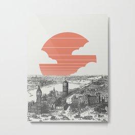 Goodnight London Metal Print