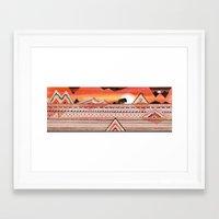 journey Framed Art Prints featuring Journey by Sandra Dieckmann