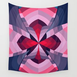 Amplified Lily Wall Tapestry