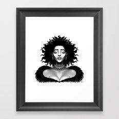 Madame Impact Framed Art Print