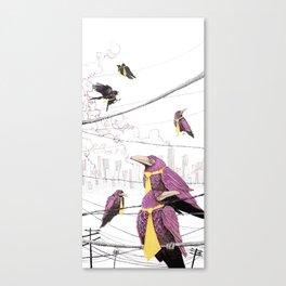 Feed the Birds Canvas Print