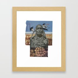 The Pelican Queen Framed Art Print