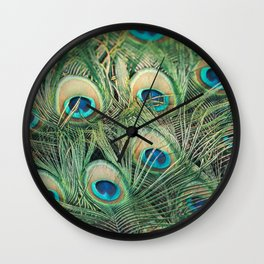 Loads of feathers Wall Clock