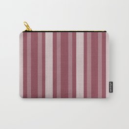 Dark Rose Victorian Lady Stripe Carry-All Pouch