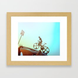 Desert Clime(b)s Framed Art Print