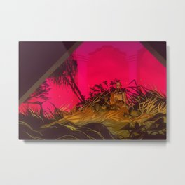 encounter Metal Print