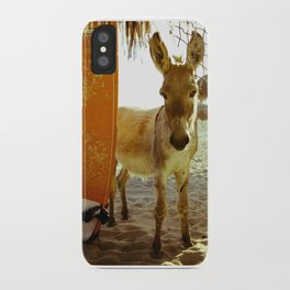 Baby Surfer Dunkeys iPhone Case