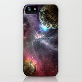 Mating of the Planets iPhone Case