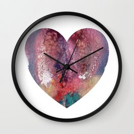 Remedy Sky's Heart Shaped Vulva Wall Clock