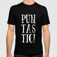 Puntastic! MEDIUM Black Mens Fitted Tee