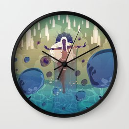 Yemanya Wall Clock